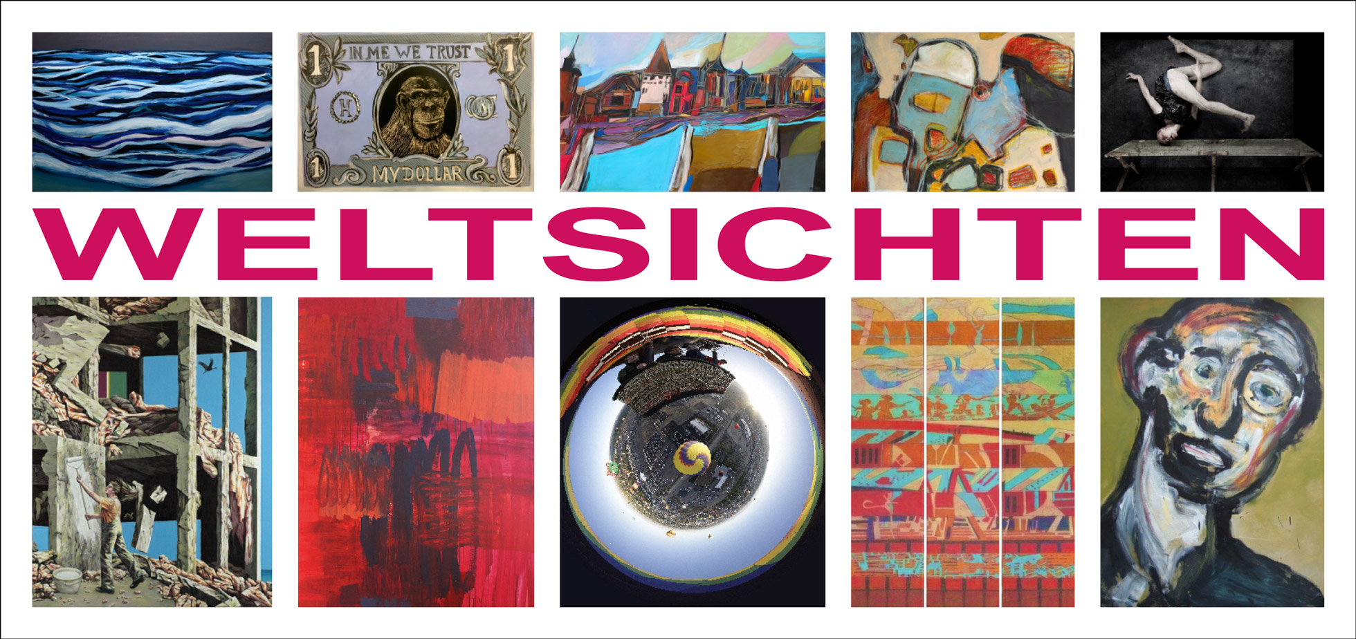 Vernissage: Weltsichten am 14.10.2018